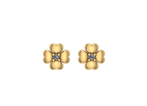 Beatrix the Flower Earrings