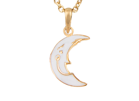 Luna the Imaginative Moon Pendant