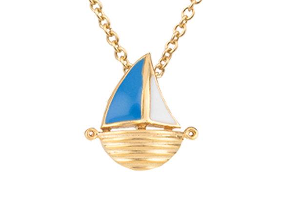 Faerwald The Adventurous Sailboat Pendant