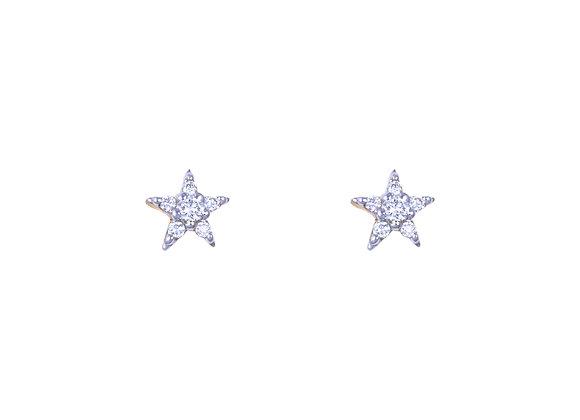 Little Laura Star Earrings