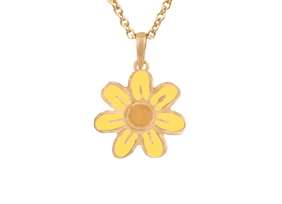 Daisy the Joyful Flower Pendant
