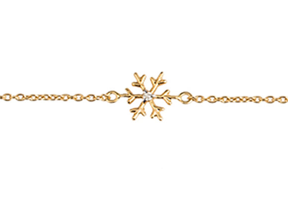 Nellie the Snowflake Bracelet