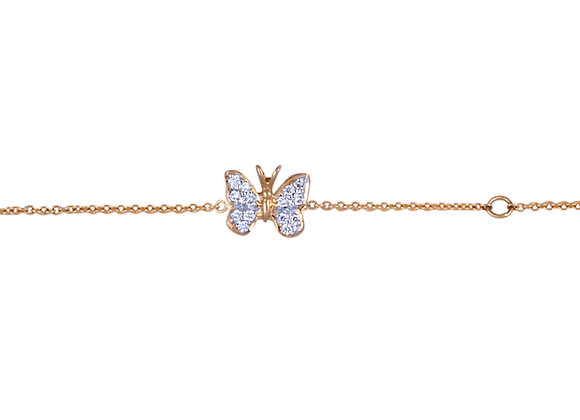 Little Charlotte The Butterfly Bracelet