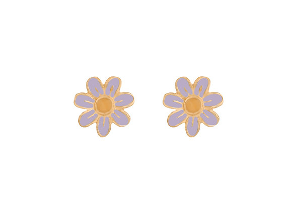 Daisy the Joyful Flower Earrings