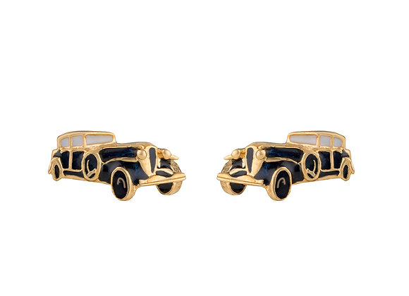 Arthur the Assertive Car Cufflinks