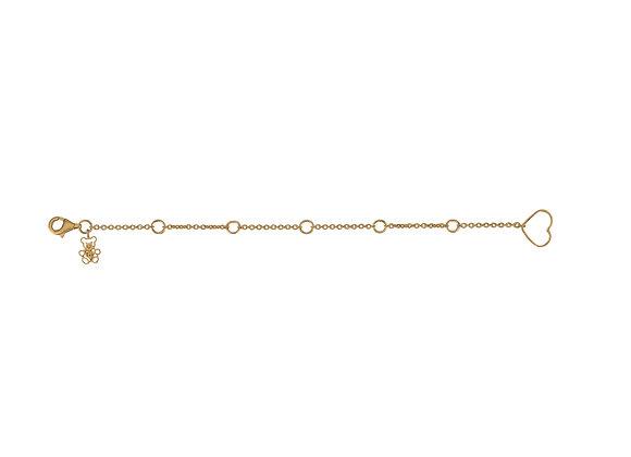 1-Size 5-Link Charm Bracelet