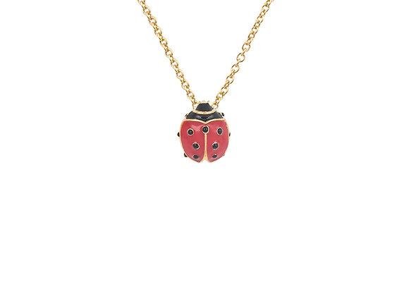 Lina The Lucky Ladybug Pendant