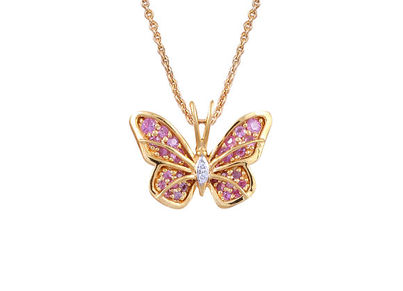 Emily the Butterfly Pendant