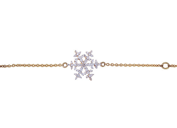 Nina the Snowflake Bracelet