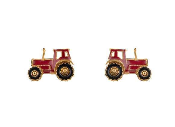 Taro The Tenacious Tractor Cufflinks