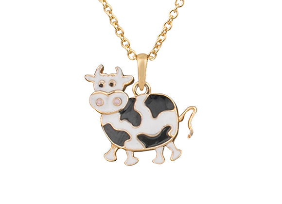 Belevan The Kind and Fierce Cow Pendant