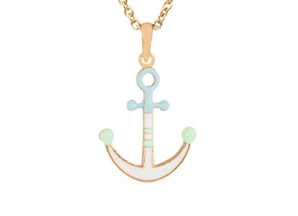 Trygg the Trustworthy Anchor Pendant