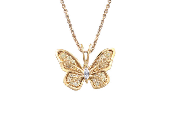 Anne the Butterfly Pendant