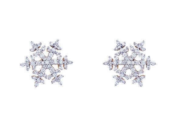 Nina the Snowflake Earrings