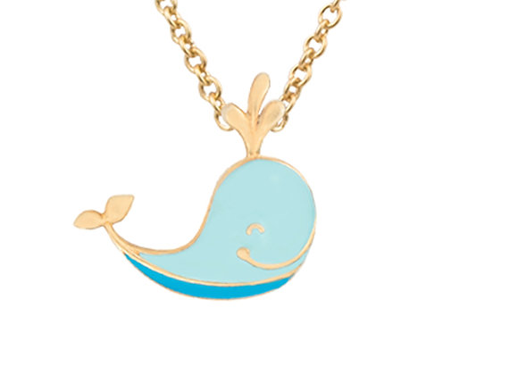 Ithan the Intelligent Whale Pendant