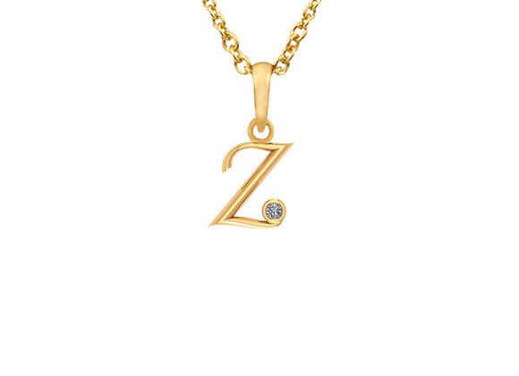 LETTER Z Pendant