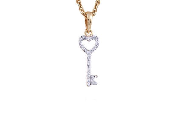 Alice The Key Pendant