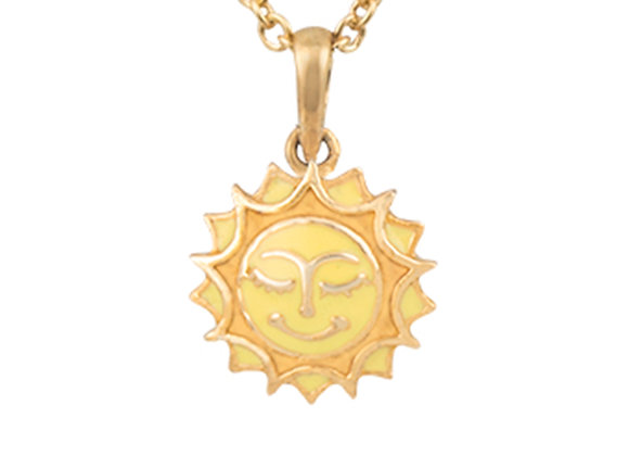 Sol the Radiant Sun Pendant