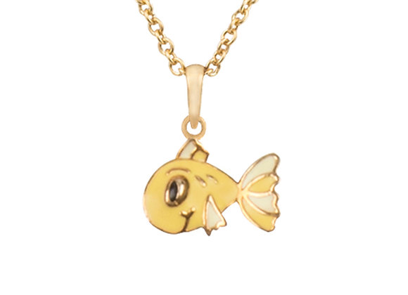 Pax the Patient Fish Pendant