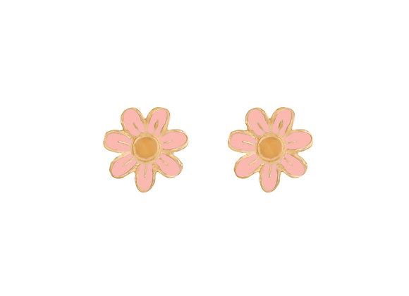 Daisy the Joyful Flower Earrings