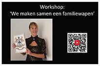 Workshop We maken samen een familiewapen