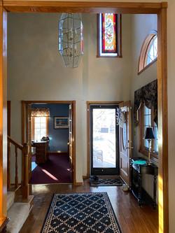 2058 HIllside Ave Mondamin foyer