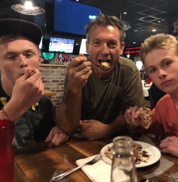 Craig, Brenden, and Cameron