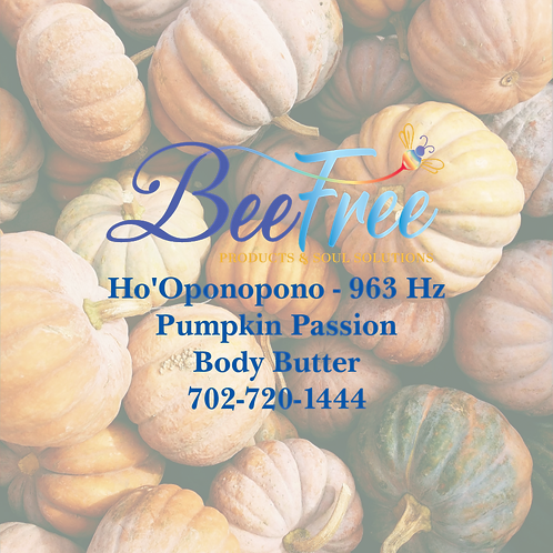 Pumpkin Passion Body Butter