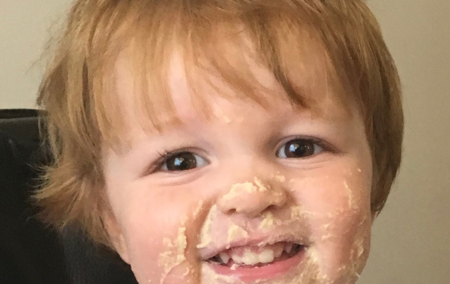 Little Frankie and Hummus