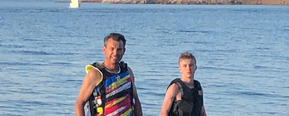 A fun day at Lake Mead