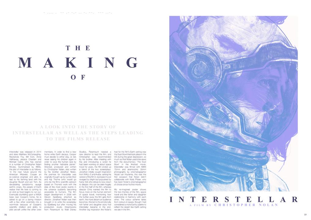 INTERSTELLAR BOOK SPREAD