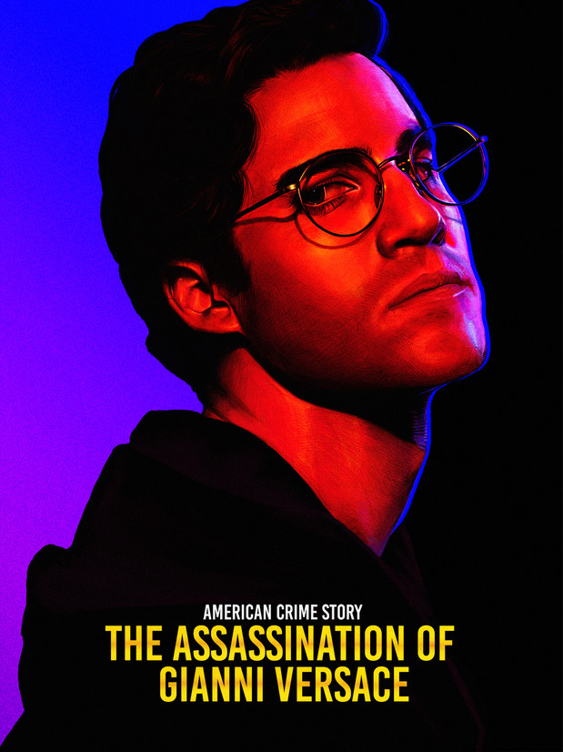 'THE ASSASSINATION OF GIANNI VERSACE' ALTERNATIVE POSTER