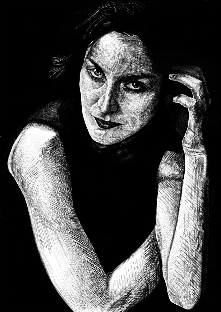 CARRIE-ANNE MOSS AS 'NATALIE'