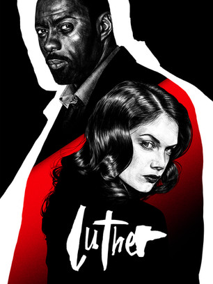 'LUTHER' ALTERNATIVE POSTER