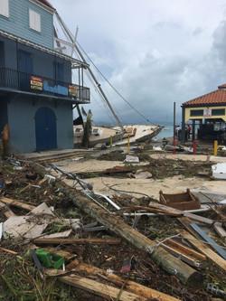 Hurricane Irma Damage st john