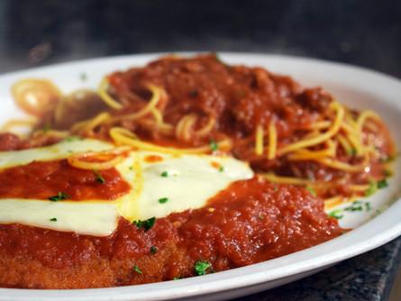 Veal or Chicken Parmigiana