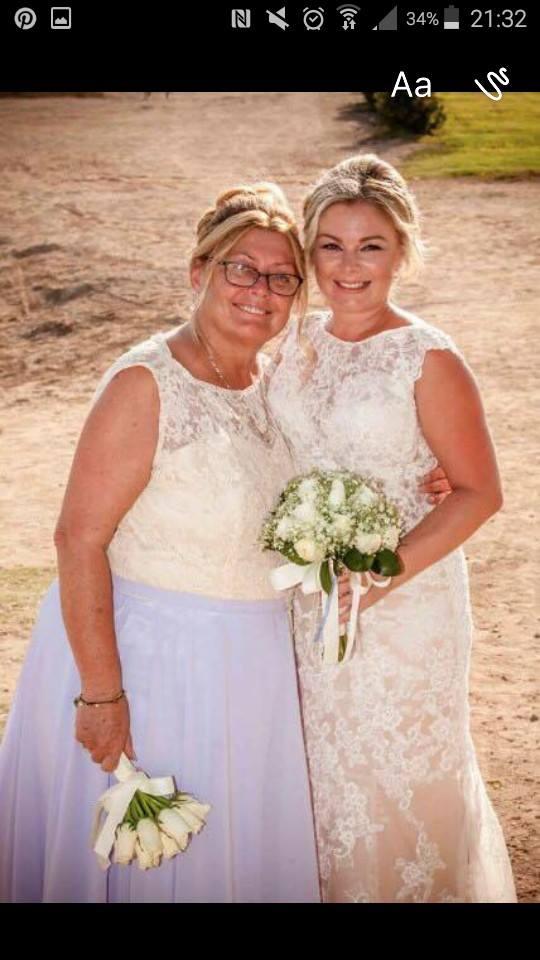 Custom Mother-of-the-Bride dress