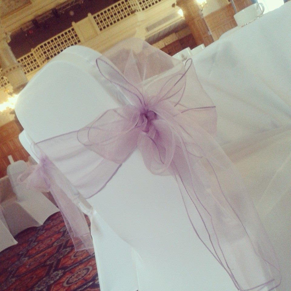 Lilac double side bow