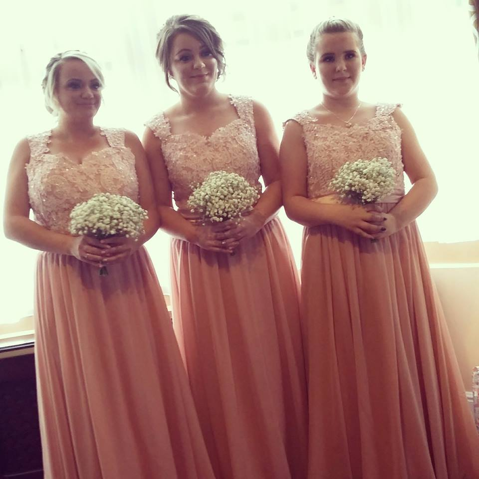 Christina Gown in Blush