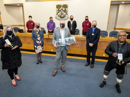 Outgoing Mayor honours community champions