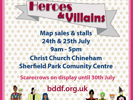 Chineham & Sherfield Park Scarecrow Trail 24th- 25th July