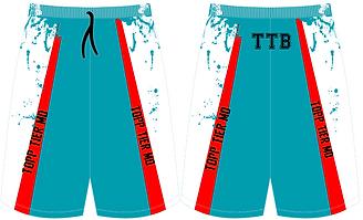 Topp Tier Uniform Sample  White Shorts F