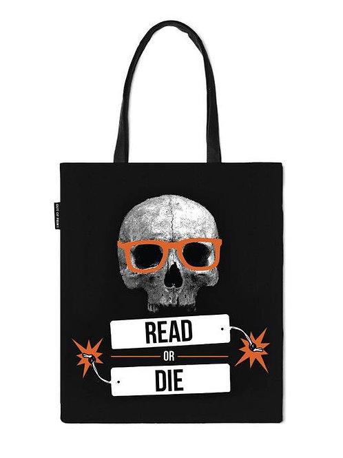 Read or Die Tote Bag