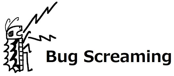 Bug Screaming Logo