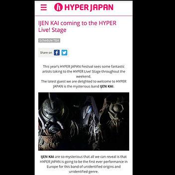 IJEN KAI Hyper Japan