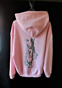 MTSUYO Hoodie Pink