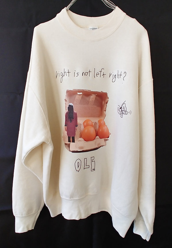 OLE Sweatshirt _right is not left right_