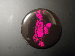 Tin Badge Pink