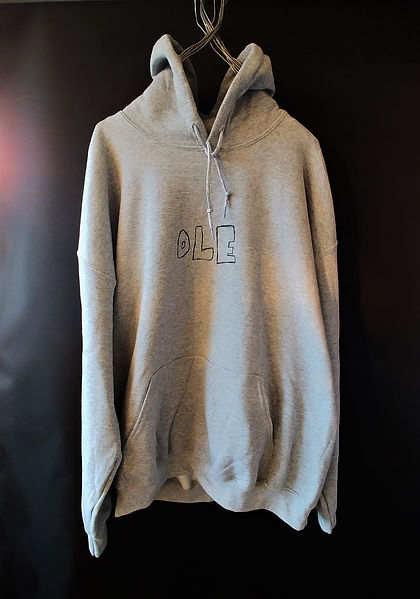 OLE Black Space Hoodie Grey