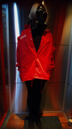 Coaches Jaket Red
